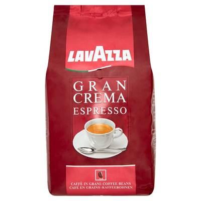 Lavazza Gran Crema Espresso geröstete Kaffeebohnen 1 kg