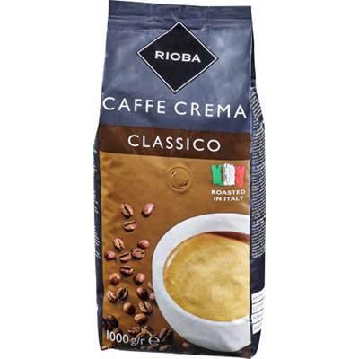Rioba Caffé Crema Classico original italienische Bohnen 1000 g
