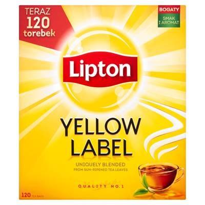 Lipton Yellow Label Schwarzer Tee 240 g (120 Beutel)