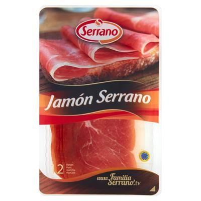 Serrano Jamon Serrano Rohschinken in Scheiben gereift 80 g