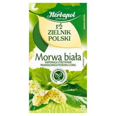 Herbapol Zielnik Polski Morwa biala Herbatka ziolowaWeißer Maulbeer-Kräutertee