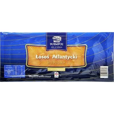 Suempol Losos atlantycki plastry 200 g
