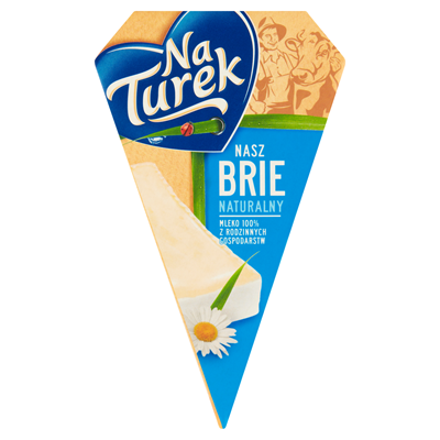 NaTurek Nasz Brie naturalny Käse 125 g