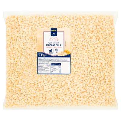 Mozzarella-Käsespäne gemischt mit 2 kg Emmentaler