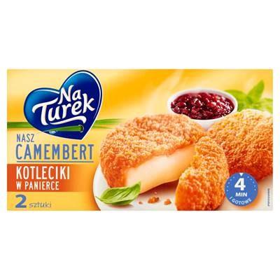NaTurek Camembert hackt in Paniermehl 2 x 100 g