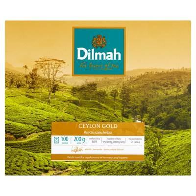 Dilmah Ceylon Gold Klassischer schwarzer Tee 200 g (100 Beutel)