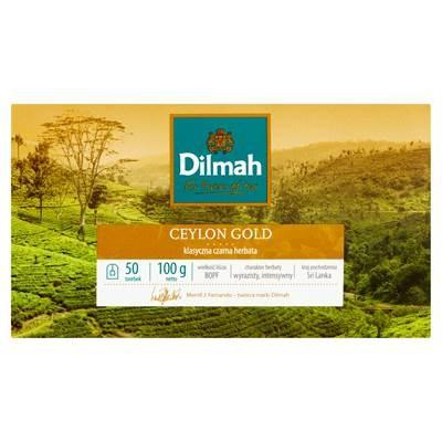 Dilmah Ceylon Schwarzer klassischer Tee 100 g (50 Beutel)