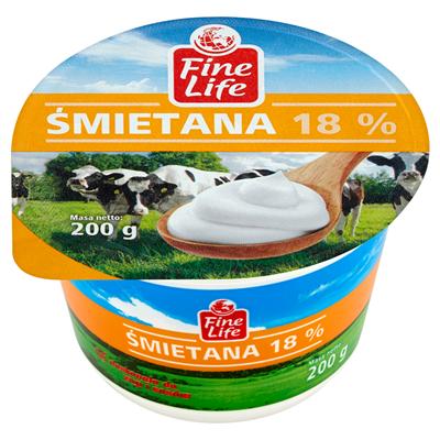 Fine Life Sahne 18% 200 g