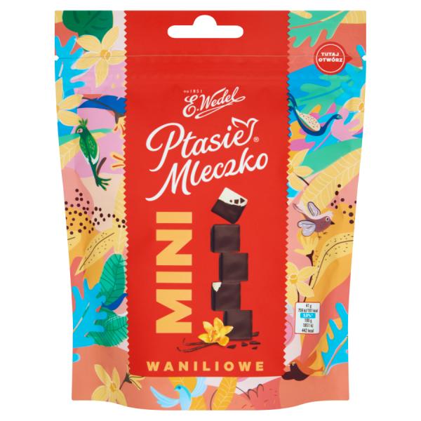 E. Wedel Ptasie Mleczko mini Vanille 123 g
