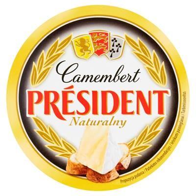Président Camembert Naturkäse 120 g