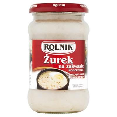 Rolnik Hausgemachte saure Suppe 370 ml 4 Stück