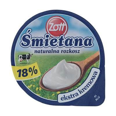 Zott Cream Naturgenuss 18% 180 G