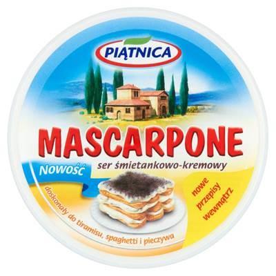 Piatnica Mascarpone 250 g 6 Stück