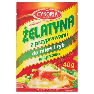 Cykoria Schweinegelatine mit Gewürzen für Fleisch und Fisch40 g 5 Stück
