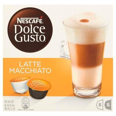 Nescafé Dolce Gusto Latte Macchiato Kawa w kapsulkach 194,4 g (16 Stück)