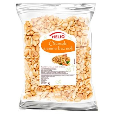 Helio Geröstete Erdnüsse ohne Salz- und Fettzusatz1 kg