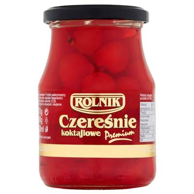 Rolnik Rote Cocktailkirschen 370 g