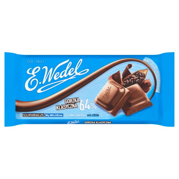 E. Wedel Bitterschokolade 100 g