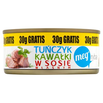 Mega Ryba Thunfischstücke in der eigenen Sauce 170 g