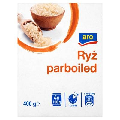 Reis Parboiled 400 g 6 Stück
