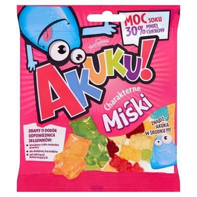 AKUKU! Gummibärchen mit reduziertem Zuckeranteil 90 g