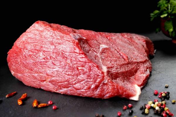 Kalbskeule Fleisch ohne Knochen 1000g