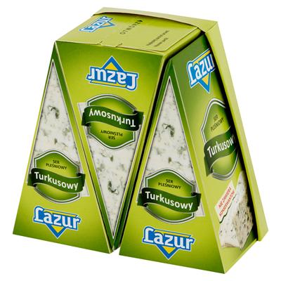 Lazur Käse türkis 100 g 3 Stück