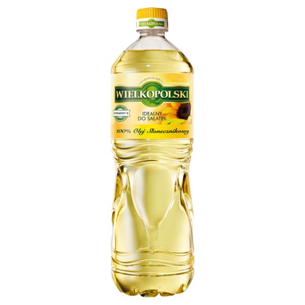 Wielkopolski Sonnenblumenöl 100% 1 l