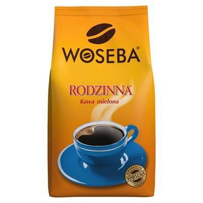 Woseba Familiekaffee, geröstet, gemahlen 12 x 250 g