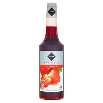 Rioba Sirup mit Erdbeergeschmack 0,7 l