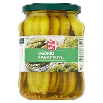 Fine Life Sandwich-Gurken 670 g