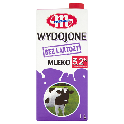 Mlekovita Gemolkene Milch ohne Laktose 3,2% 1 l