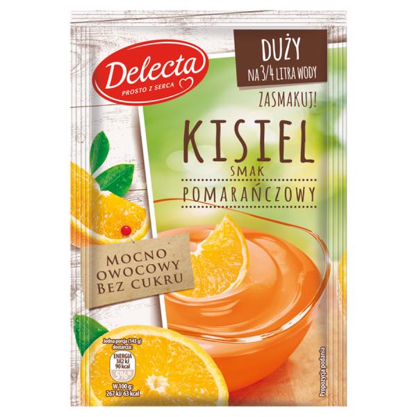 Delecta Kaltschale Orangengeschmack 58 g