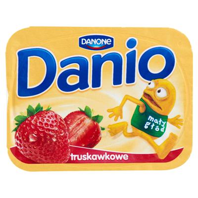 Danone Danio Erdbeerhomogenisierter Käse 140 g 16 Stück