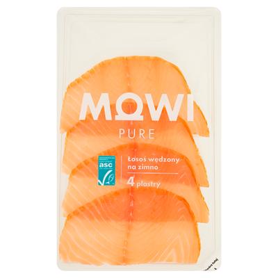 Mowi Norwegischer Lachs kalt geräuchert 100 g