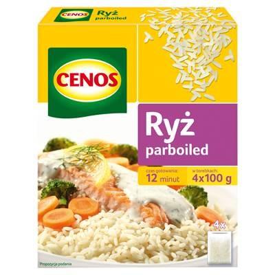 Parboiled Reis Cenos 400G 4 Stück