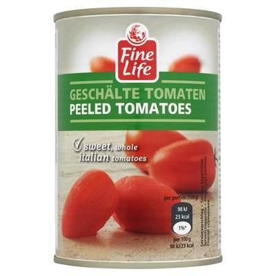 FINE LIFine Life Tomaten ganz ohne Haut in Tomatensaft400 g