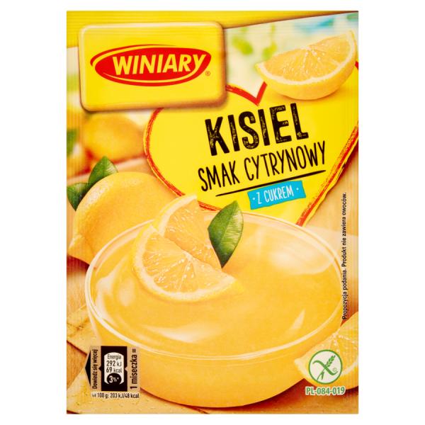 Winiary Zitronengelee mit Zucker 77 g