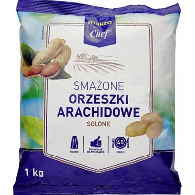 Makro Chef gesalzene Erdnüsse 1kg