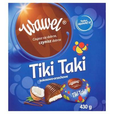 Wawel Tiki Taki Kokosnuss 430 g