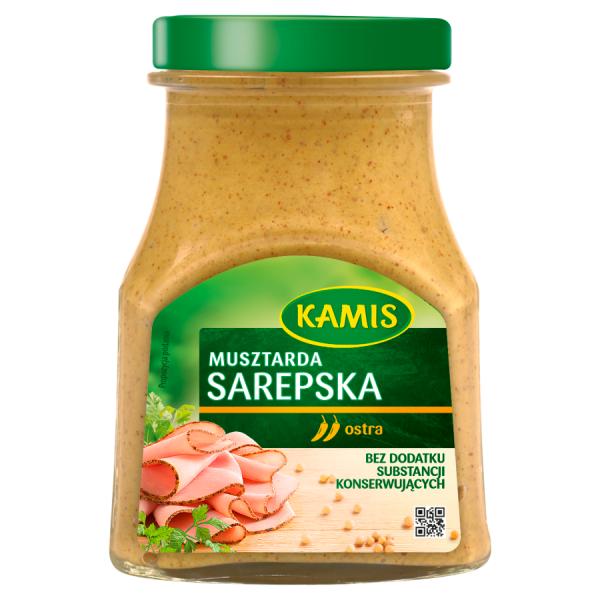 Kamis Brauner Senf 185 g