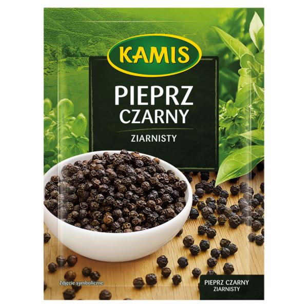 Kamis Schwarzer Pfeffer körnig 20 g