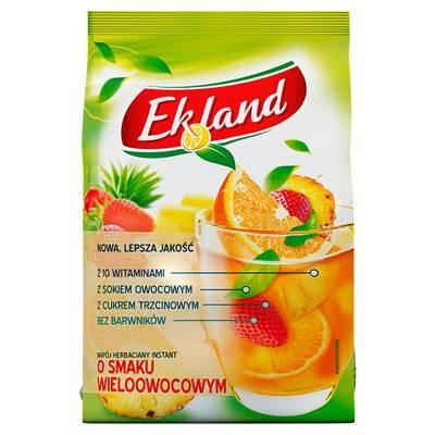 Ekland Instant-Teegetränk mit Fruchtgeschmack mit Vitamin A C E und Folsäure 300 g