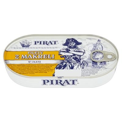 Pirat Makrelenfilets in Oel 170 g