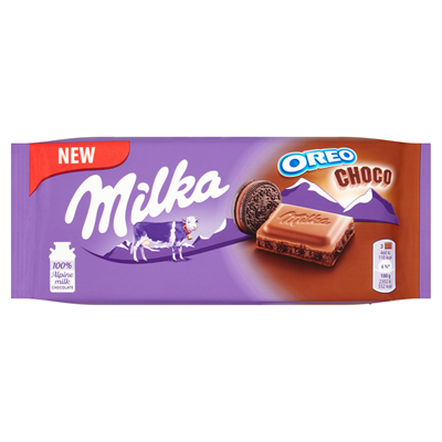 Milka Milchschokolade Oreo Choco 100 g