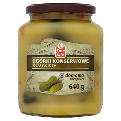 Fine Life Kosaken-Gurken in Dosen 640 g