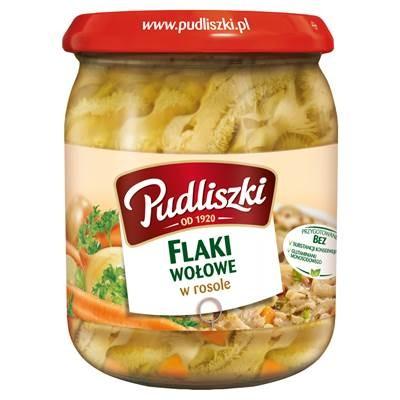 Rindfleisch Kuttelsuppe Pudliszki 4x500G