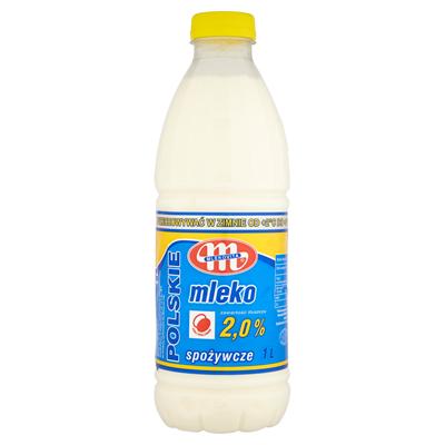 Mlekovita Frische polnische Milch 2% 1L 6 Stück
