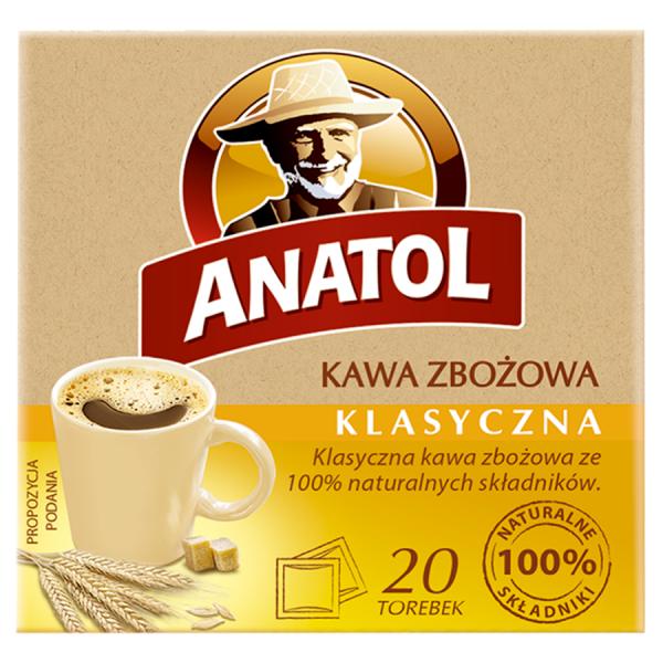 Anatol Getreidekaffee klassisch 84 g (20 Beutel)