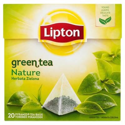 Lipton Nature Grüner Tee 30 g (20 Beutel)